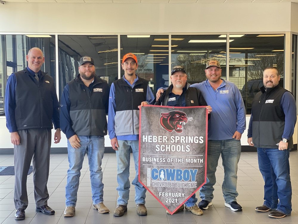 Heber Springs Schools Business of the Month - Cowboy Chevrolet Buick GMC