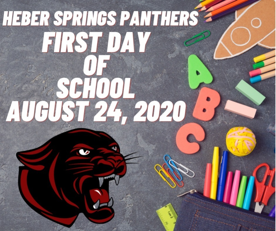 First day of school flyer